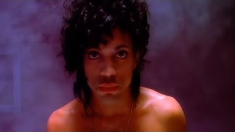 prince  the revolution  when doves cry official music video