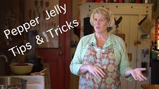 Tips and Tricks to make Pepper Jelly, revisited ~ no measurements, Cranberry Orange Clove variety