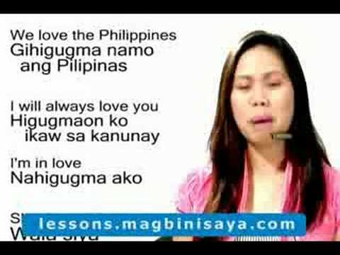 Learn Cebuano Or Bisaya More Love Expressions Hq Youtube