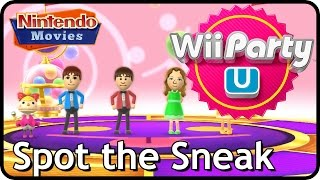 Wii Party U - Spot the Sneak