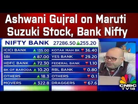 Ashwani Gujral on Maruti Suzuki Stock, Bank Nifty & Shares Market Strategies | CNBC TV18