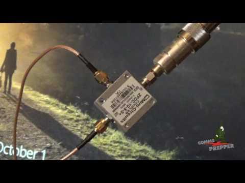 Signal Hound USB-TG44A Tracking Generator - Testing Antennas