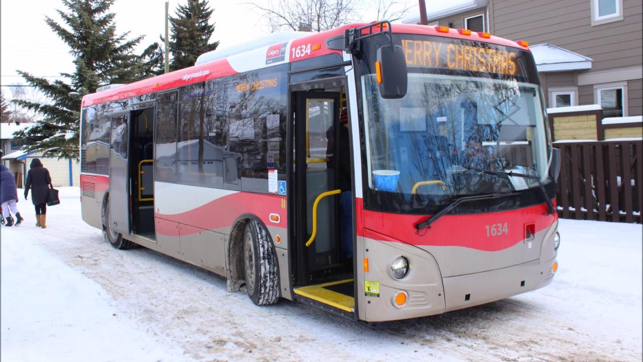 Calgary Transit On Board 2016 Grande West Vicinity