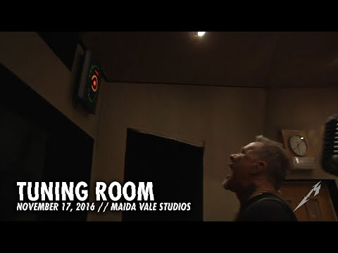Metallica: Tuning Room (MetOnTour - Maida Vale Studios - 2016)