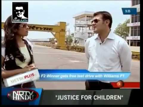xclusive Ajith_s Full Interview From NDTV Hindu By STARAJITH.mp4