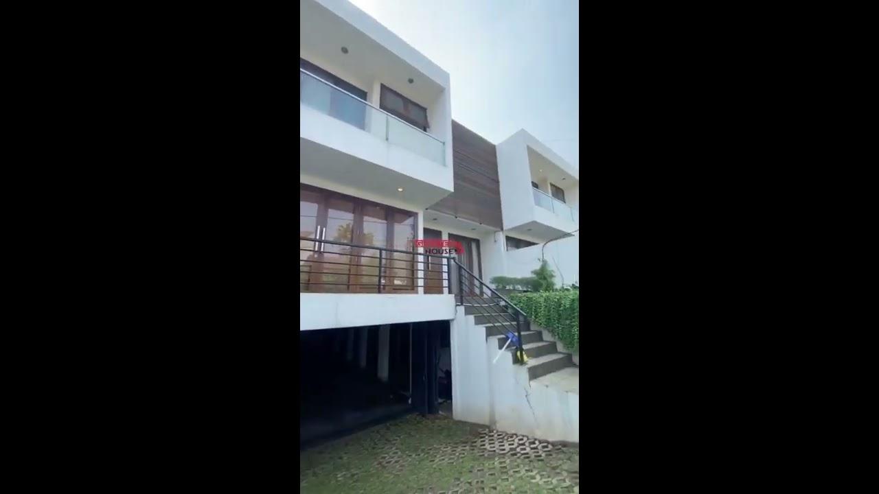 Rumah Mewah Siap Huni Di Kemang Di Jual - YouTube