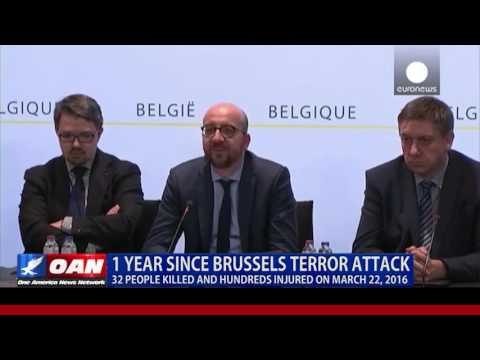 One Year Since Deadly Terror Attack In Brussels