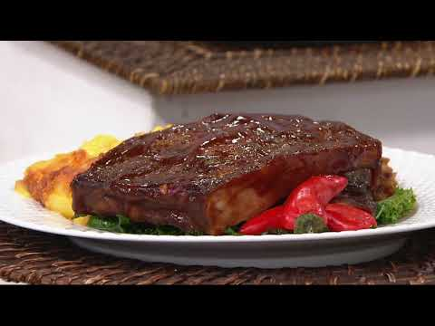 Corky's BBQ (5) 1 Lb. BBQ Ribs With Corky's Sauce On QVC