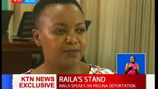 NASA leader Raila Odinga speaks about Miguna Miguna's deportation