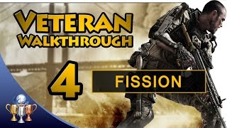 Call of Duty Advanced Warfare - Part 4 Fission - Veteran Walkthrough [60fps]