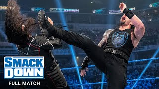FULL MATCH - Shinsuke Nakamura vs. Roman Reigns: SmackDown, Oct. 18, 2019