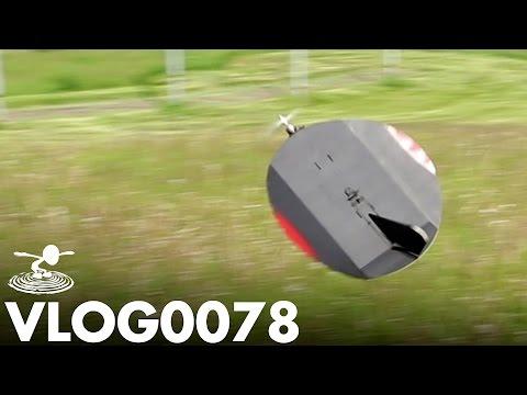 THIS SHOULD NOT FLY - DIY FLYING CIRCLE | VLOG0078