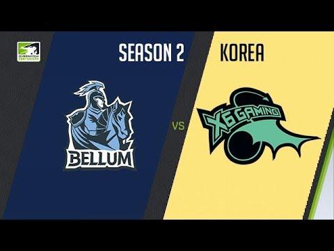 X6 vs Meta Bellum - OW Contenders KO - Map 2