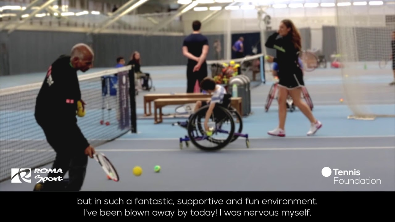 5a164dbb532 Roma Sport Tennis Foundation Emma   Jack Wheelchair Tennis Festival ...