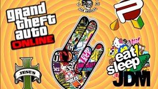 GTA Online - Как поставить ЛЮБОЙ логотип банды ?
