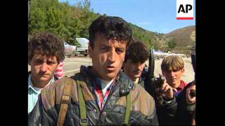 ALBANIA: REBELS IN SOUTH SEIZE MILITARY AIRBASE & MIG FIGHTERS