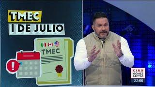 ¿El T-Mec ayudaría a levantar la economía de México? | Noticias con Ciro Gómez Leyva