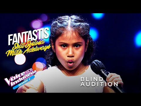 Adelways Lay - The Magic Flute | Blind Auditions | The Voice Kids Indonesia Season 4 GTV 2021