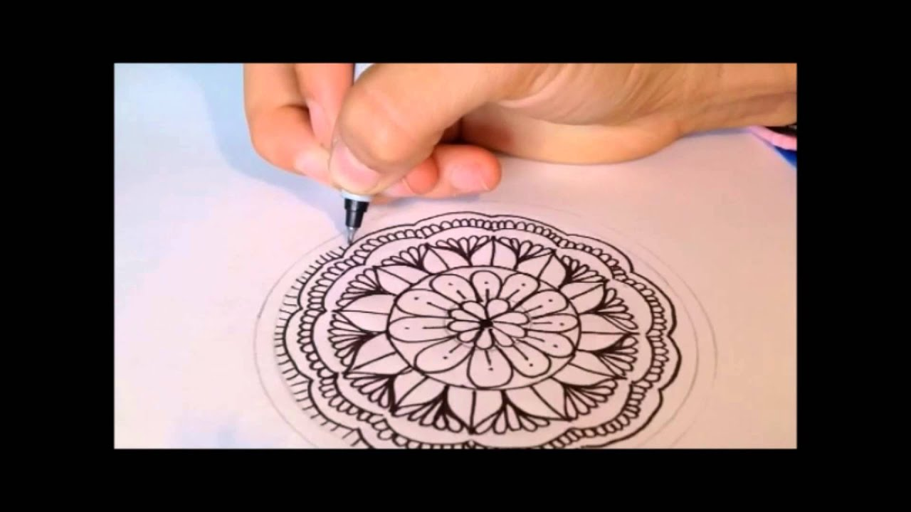 Aprende a hacer mandalas Dibujos Girly Power YouTube