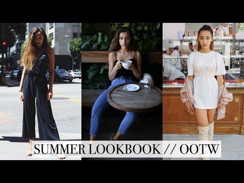 SUMMER LOOKBOOK / OOTW   Hailey Sani