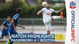 HIGHLIGHTS | SC Paderborn 4-1 Bolton