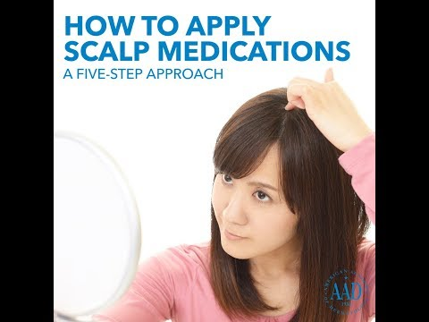 Scalp psoriasis   American Academy of Dermatology