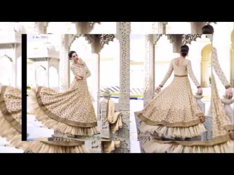 Designer Heavy Anarkali Suits Collection by Floral latest indian fashion collection