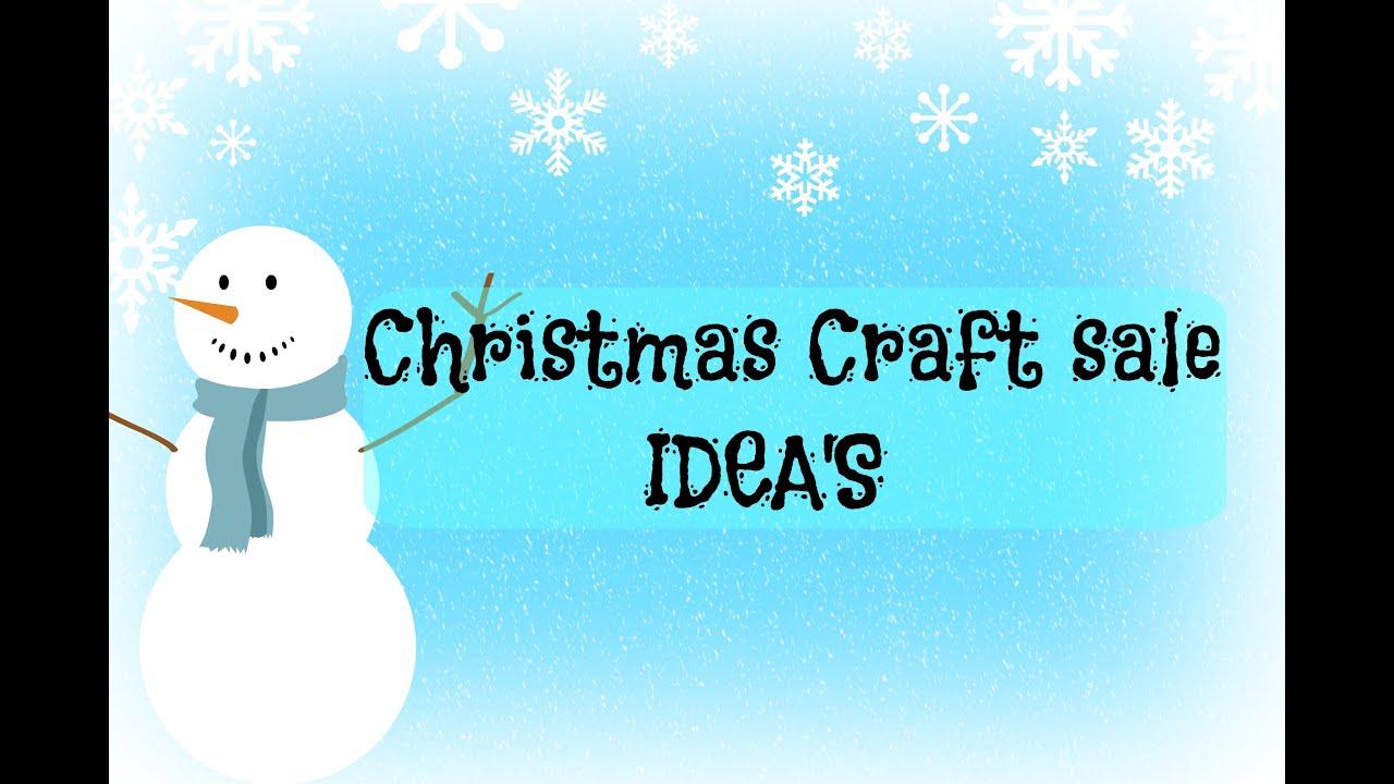 Youtube Christmas Craft Ideas Part - 40: CRAFT SALE IDEAS | DIY | CHRISTMAS CRAFTS | EASY - YouTube