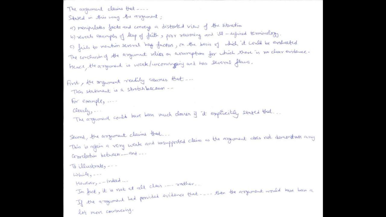 Gmat essay writing