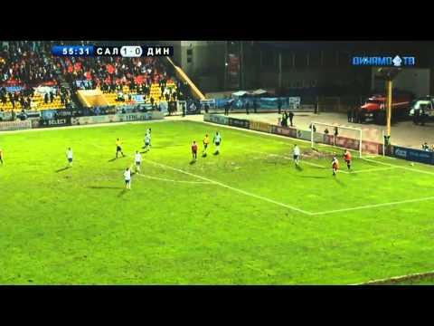 «Салют» (Белгород) - «Динамо» (Москва) - 1:0 (1:0). Обзор матча