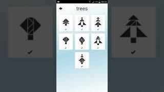 1001 tangram trees answer