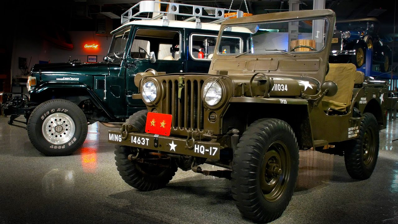 1952 Willys Jeep vs. 1976 Toyota Land Cruiser - Generation Gap: 4x4s