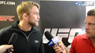 Alexander Gustafsson talks Jon Jones fight, future rematch and possible fight against Daniel Cormier