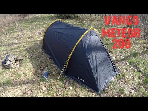 Vango meteor 200 tent review, good wild camping, trekking tent.