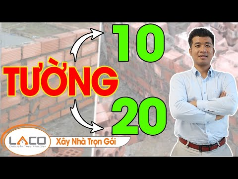 [SO SÁNH] Tường 10 Và Tường 20 Loại Nào Phù Hợp Cho Xây Dựng Nhà Phố? - Xây Nhà Trọn Gói LACO