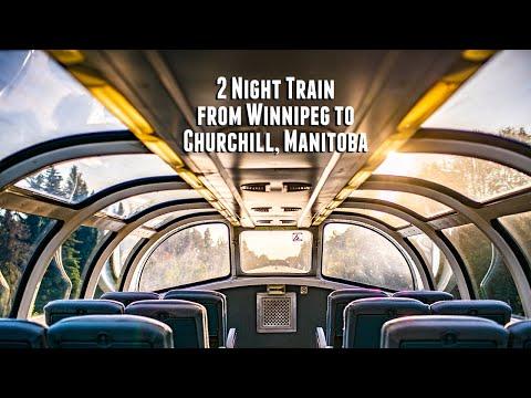Sleeper Plus Cabin On The VIA Rail Train From Winnipeg To Churchill, Manitoba