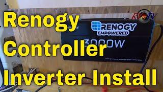 Renogy 40Amp MPPT Controller + 3000 Watt Inverter Installation