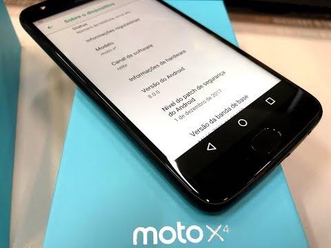 Moto X4 foi atualizado para o Android Oreo