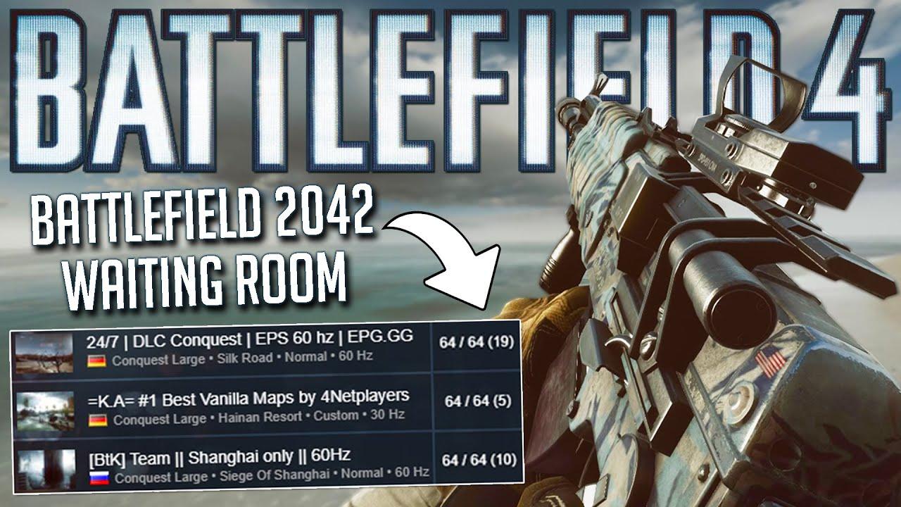 Battlefield 4 is a waiting room for Battlefield 2042!