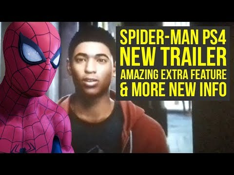 New Spider Man PS4 Trailer Shown In Cinema, Awesome Extra Feature & More! (Marvels Spiderman PS4)