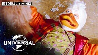 Howard the Duck   Quack Fu & Telekinesis at Joe Roma's Cajun Sushi Diner in 4K HDR