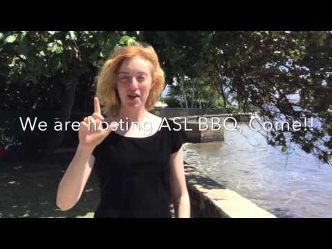 Honolulu Waldorf School- ASL BBQ 2016 invitation