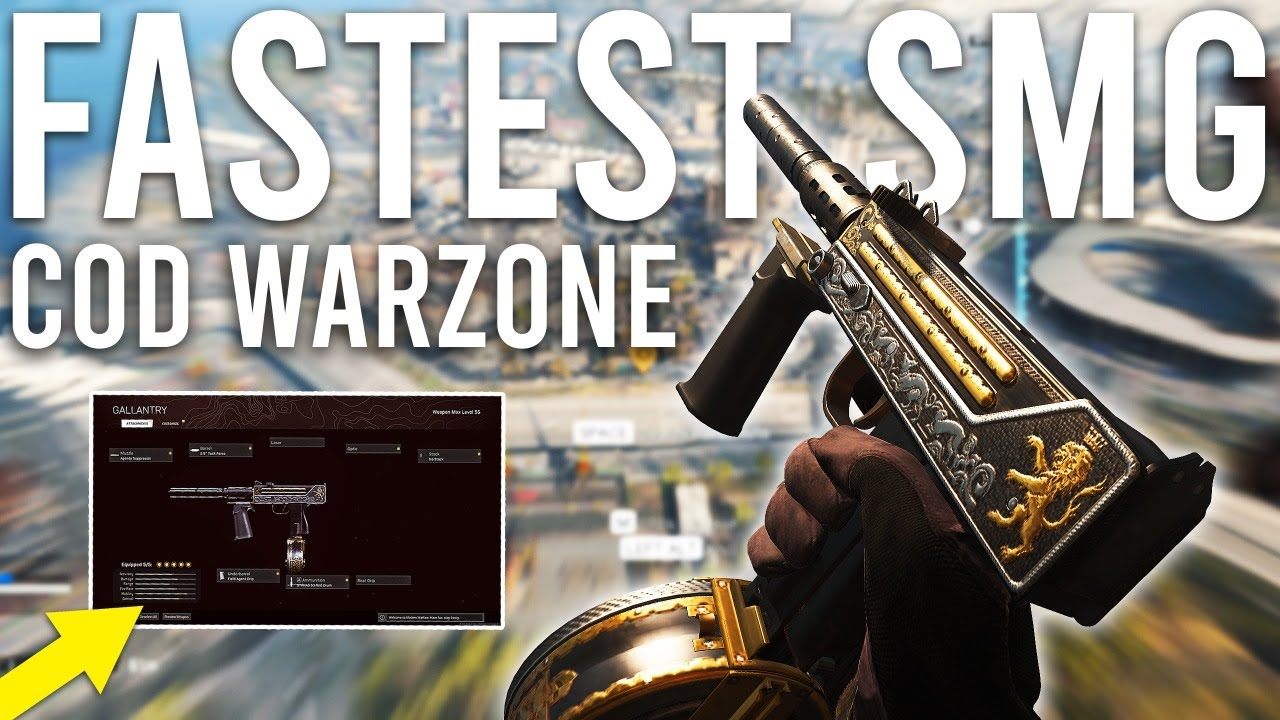 Download Call of Duty Warzone - The FASTEST SMG!
