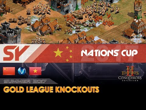 China Frantic vs Vietnam A | Nations Cup 2017 - Losers Bracket R2