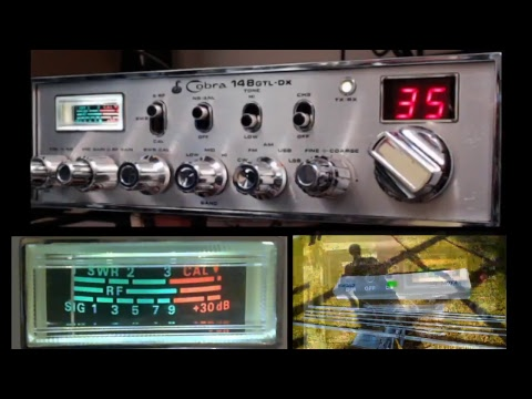 11meterdx Wagga Live Stream 10/2/2018 (27mHz Aussie CB radio) Cobra 148 GTL-DX