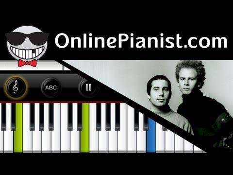 Simon & Garfunkel - The Sound of Silence - Piano Tutorial & Sheets