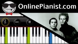 Simon & Garfunkel - The Sound of Silence - Piano Tutorial & Sheets