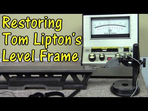 Restoring Tom Lipton's Level Frame