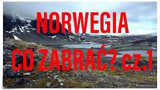 TREKKING W NORWEGII - SPRZĘT cz.1