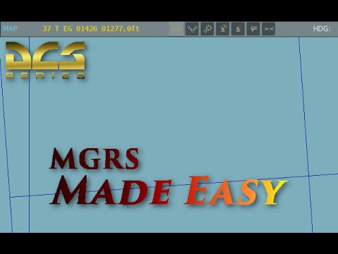 DCS World: MGRS made easy